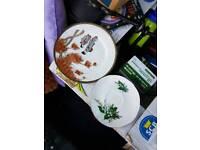 Chinese plates x7