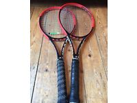 2 Head Prestige MP racquets