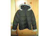 Girls Age 13 Winter Coat with Zip On/Off Hood