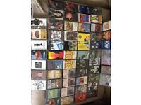63 cassette tapes (indie, rock, metal etc) job lot