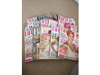 Selection of bride/wedding magazines