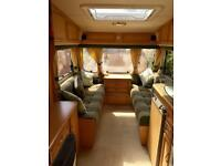 Abbey freestyle 470 SE 2 birth 2002 caravan in excellent condition