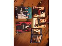 Dvd boxsets various £5
