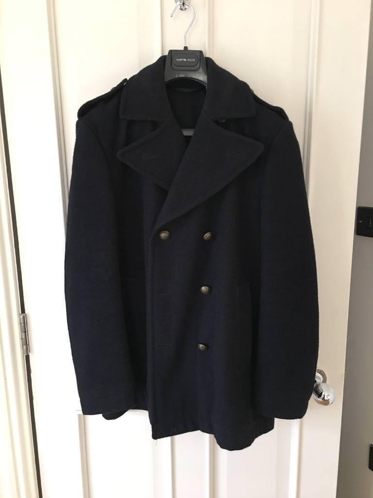 Jack Wills Men's Large Wool Coat