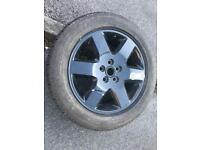 Sell used once Range Rover alloy spare wheel with tyre