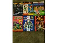 Classic small selection of commic books available 1970/80s classics