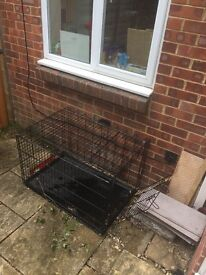 Large dog/ puppy crate - good condition