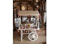 Wedding sweet cart or florist