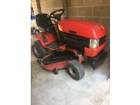 Westwood T1800 sit on mower with grass brushes and collector