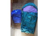 Freeman Scout 200 Sleeping Bag and inflatable double mattress
