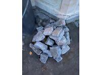 Wall stone half dumpy bag