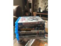 7 Blu-Rays (as new)