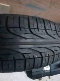 Vauxhall meriva spare wheel and tyre