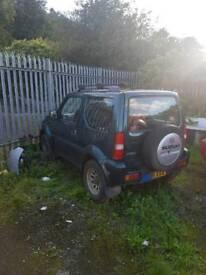 Suzuki jimny offroad spares or repair