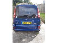 Toyota, YARIS VERSO, MPV, 2000, Manual, 1299 (cc), 5 doors