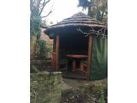 Garden Gazebo - Cabana - must sell £1,200 o.n.o.