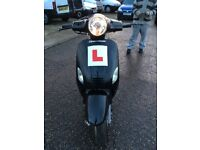 125 cc moped car b right off