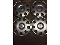 "Vauxhall 16"" wheel trims"