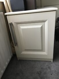 Made to order bedside cabinets good condition