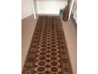 Oriental rug runner, gorgeous, wool, fab condition