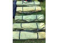 American cot beds x5