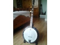 5 String Bluegrass Banjo.