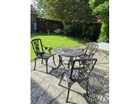 Bistro Set - Table with 3 chairs