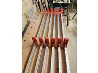 6 aluminium light weight clamps