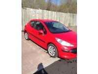PEUGEOT 207s 1.4 42000 MILES 6 MONTHS MOT LOOKS AND DRIVES SUPERB