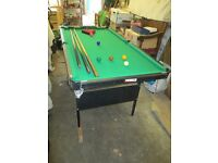 Snooker table (small) for sale