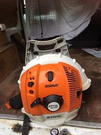 Stihl br600 heavy duty back pack blower