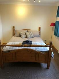 Large double room Inverness close to city centre, no bills