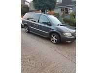chrysler grand voyage crd limited 2.5 diesel manual