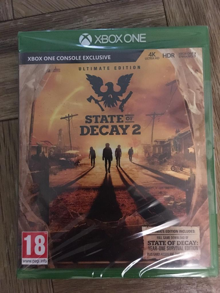 State of Decay 2 Ultimate Edition Xbox One | in Hitchin