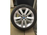 BMW 17inch Alloy Winter Wheels (Set of 4) FREE FITTING