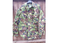 EX BRITISH ARMY COMBAT JACKETS IDEAL FOR FISHING / HUNTING