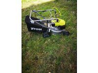 Petrol lawnmower. Ryobi RLM4114. As new