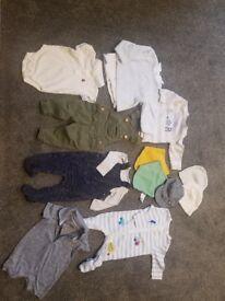 Baby boy clothes bundle 3 - 6 months