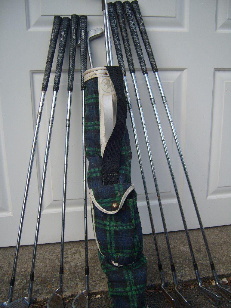 Part Set of Mizuno Silver Cup Golf Clubs