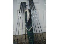 Part Set of Mizuno Silver Cup Golf Clubs