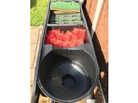 Koi pond filter best Oasis Vortec brand AS NEW 7 months use only 30000 litres filtration cost £800