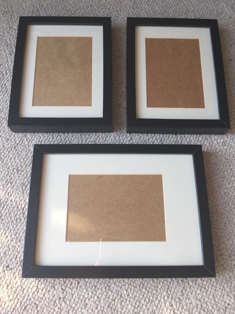 3 x Ikea Ribba black picture frames | in Stoke Bishop, Bristol | Gumtree