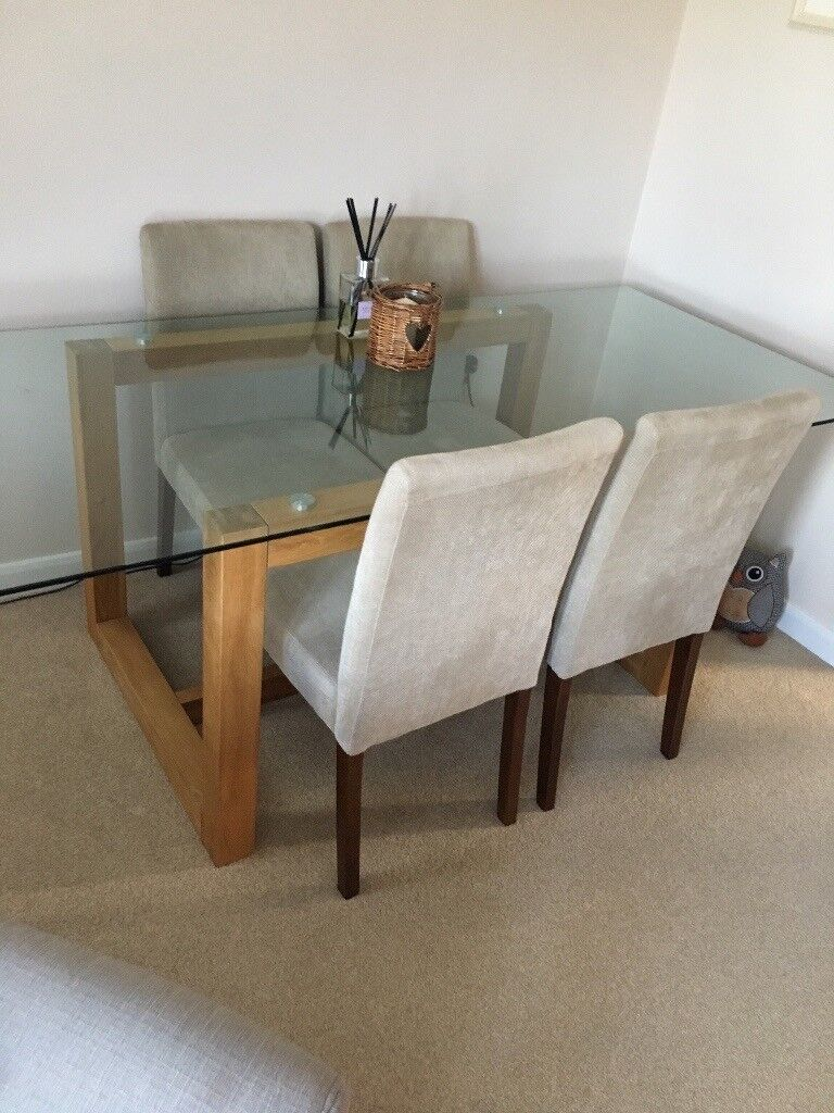 Dining Table - Glass - seats up to 6.