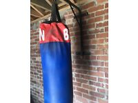 Punch Bag and Wall Bracket