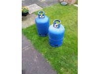 Calor gas cylinders (empty)