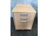 Wooden 3 drawer cupboard / filing cabinet Delivery available