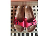 Birkenstock Red Sandals