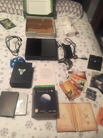 Xbox one 500GB, no headset, no kinect, 2 controllers, 2 games
