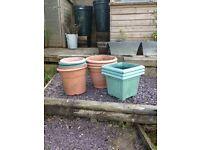 Garden pots free
