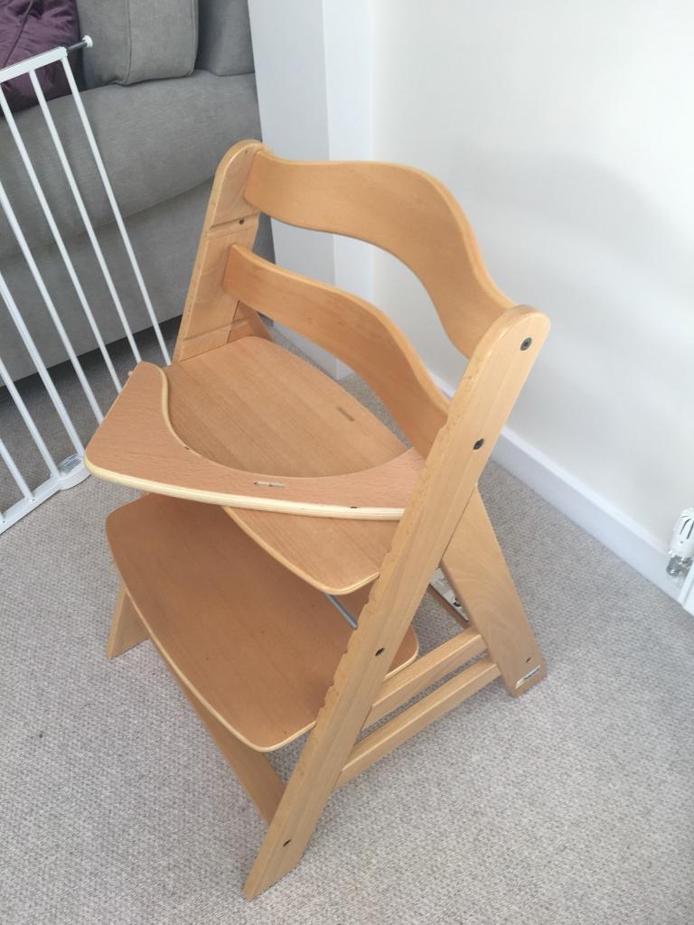 Hauck adjustable high chair